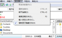 Filezilla ftp 开启 .htaccess文件显示