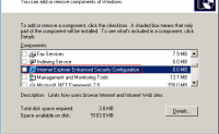 如何关闭Windows Server版IE的安全限制