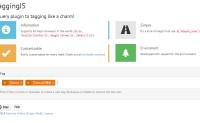 TaggingJS 标签输入控件