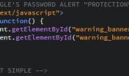 安全扩展不安全 谷歌Password Alert被发现存在绕过漏洞