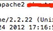 Mac OS X中配置Apache