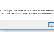 sqlyog No supported authentication methods available解决方案